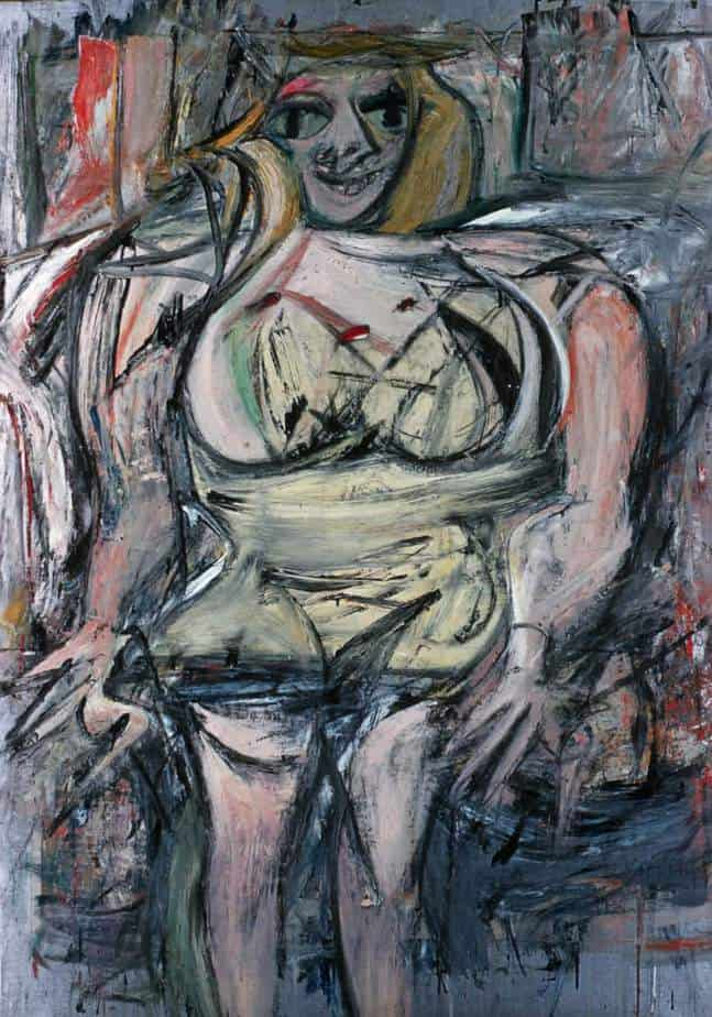 Woman III (1953) by Willem de Kooning