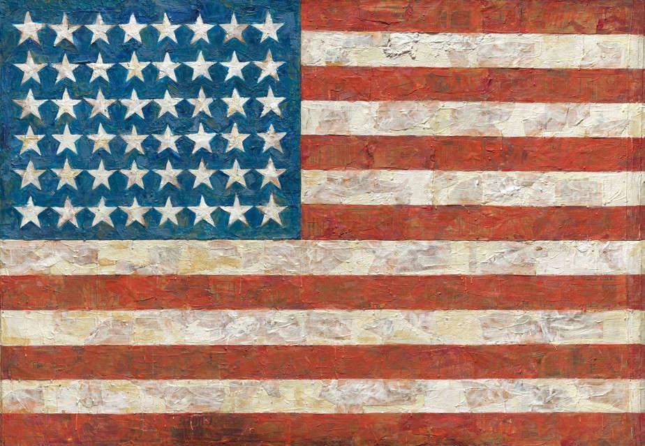Flag (1955) by Jasper Johns