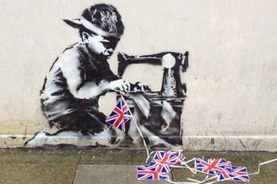 Slave Labour – London – London by Banksy