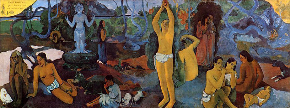 Where Do We Come From? What Are We? Where Are We Going? (1897) by Paul Gauguin
