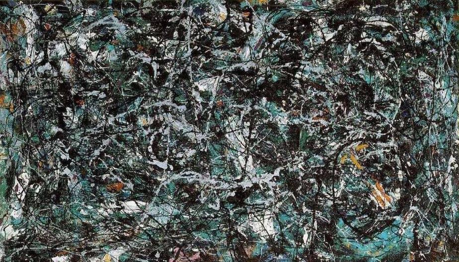 Full Fathom Five (1947) by Jackson Pollock Greatest Paintings of Modern Art