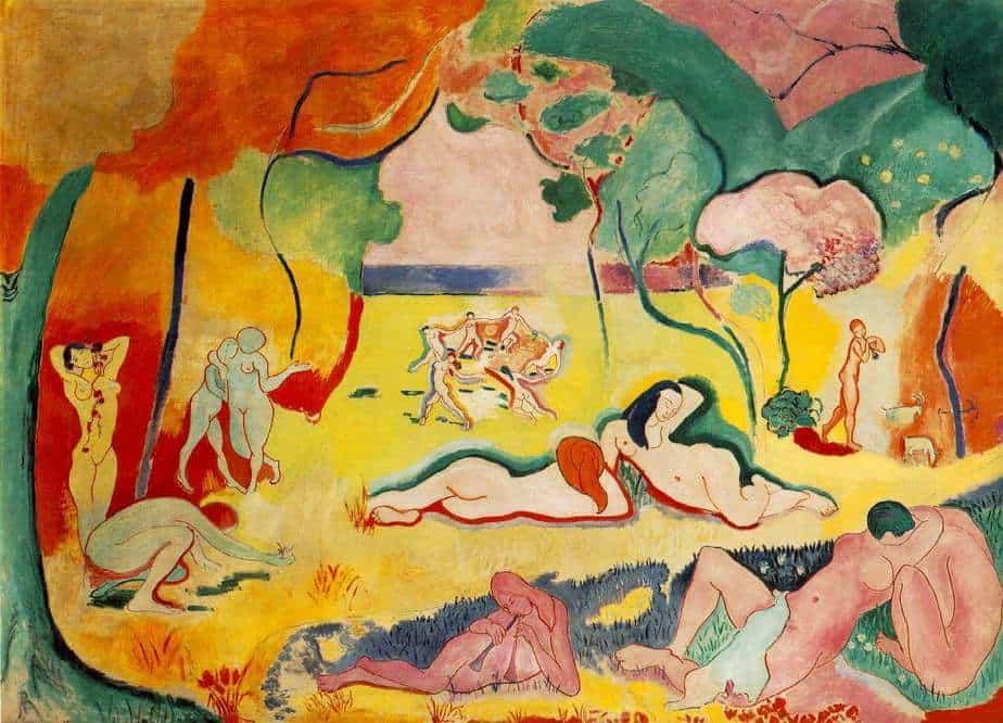 Joy of Life (1905) by Henri Matisse Greatest Paintings of Modern Art