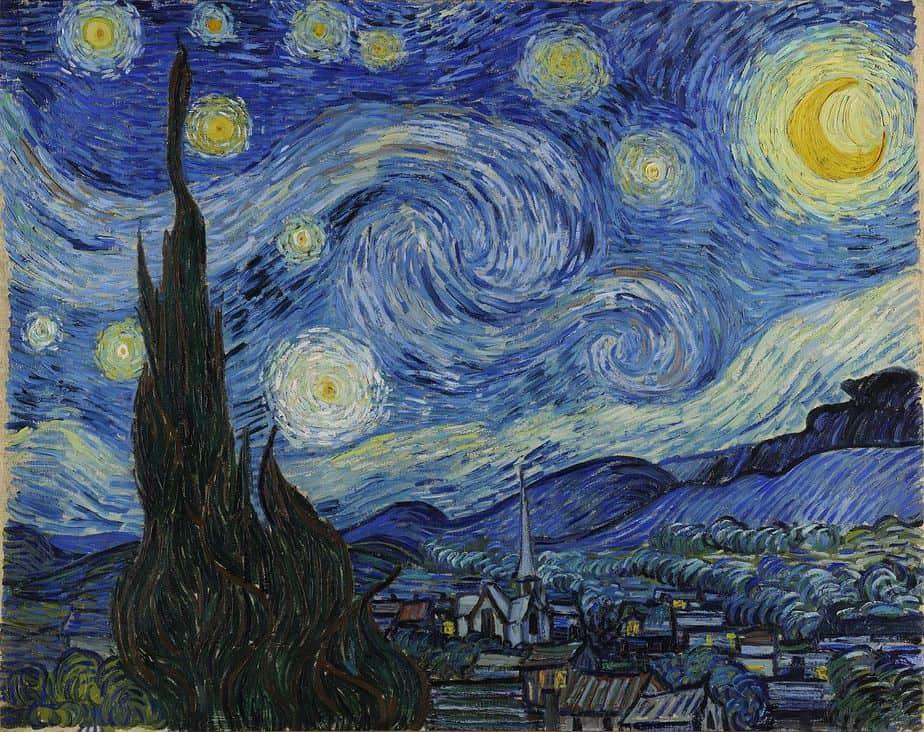 Starry Night – Vincent van Gogh Top Symbolic Artworks