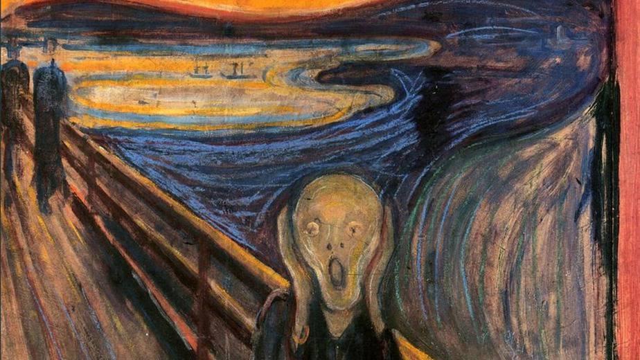 The Scream (1893) by Edvard Munch