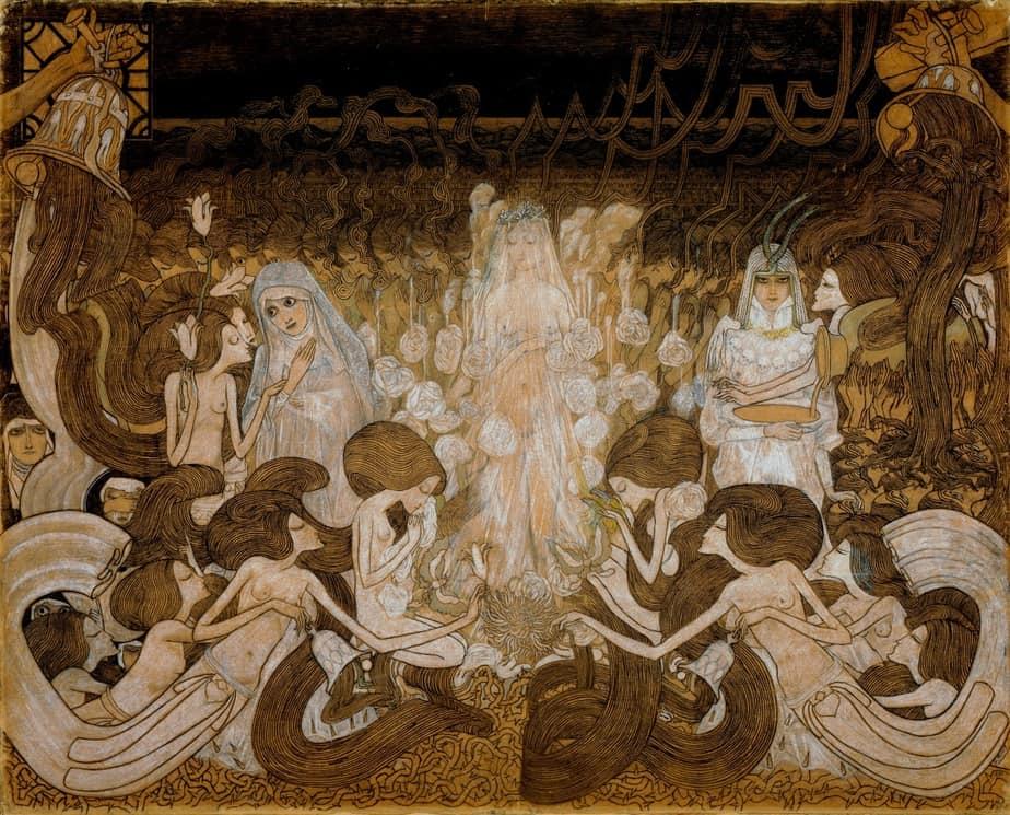 The Three Brides – Jan Toorop